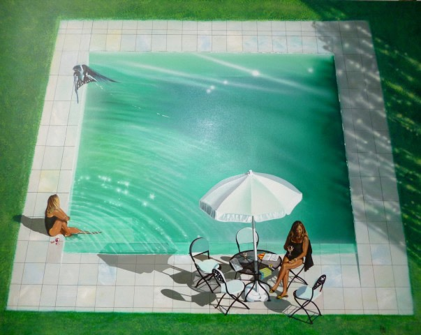 Drinks at the pool - Mike Francis