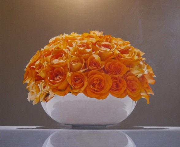 Orange Roses - Sarah Sibley