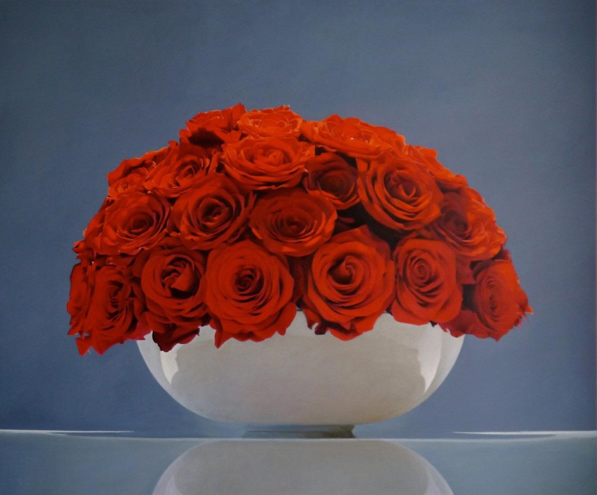 Red Roses - Sarah Sibley