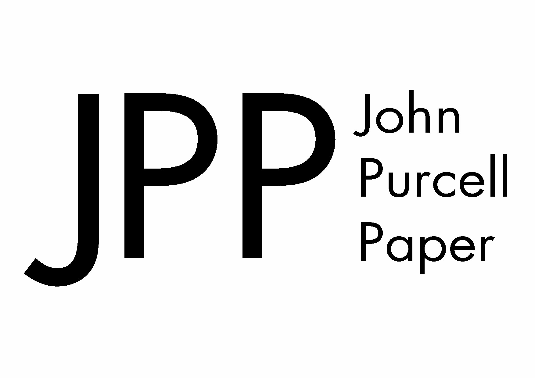 John Purcell Paper Prize
