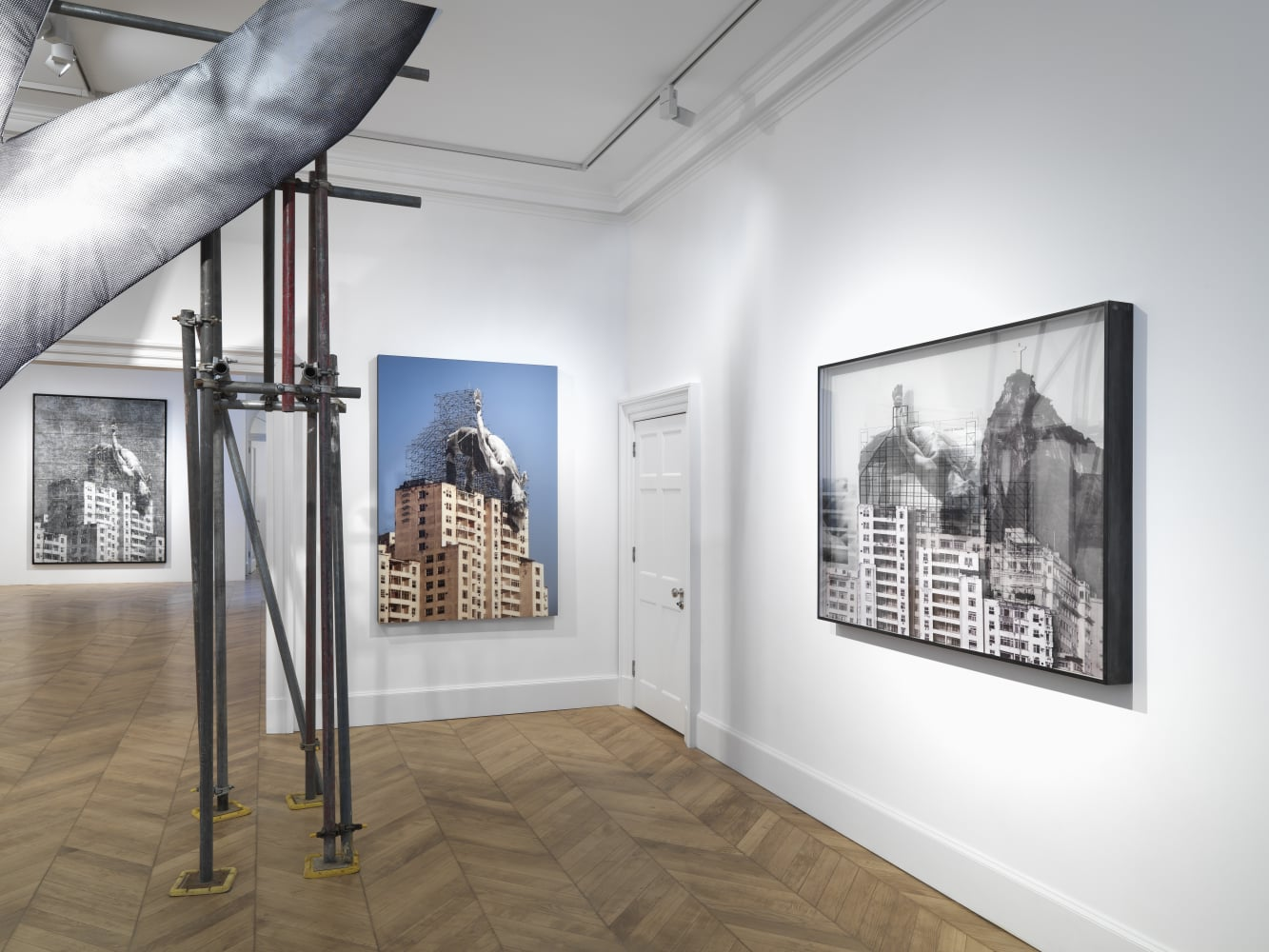 Jr Opens Lazinc S New Mayfair Gallery With His Exhibition Giants Body Of Work