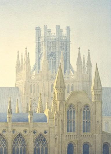 GERARD STAMP - FINE ENGLISH CHURCHES & CATHEDRALS