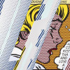 Reflections on Girl, 1990, by Roy Lichtenstein, Screenprint from an edition of 68, at Coskun Fine Art