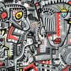 Online Art Gallery. Contemporary Expressionism. Chuchin Gutierrez