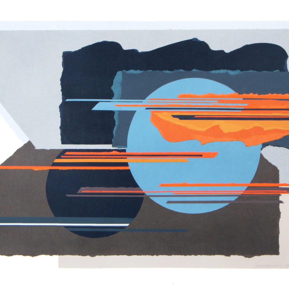 Colette Vermeulen, Blue sun, Blue Moon, 2019