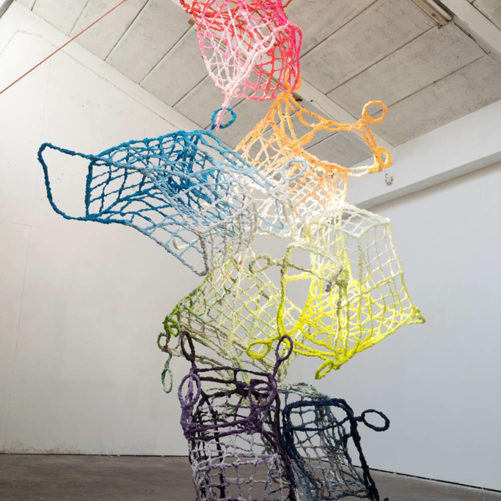 Stefan Gross, Shopping Rainbow, 2019
