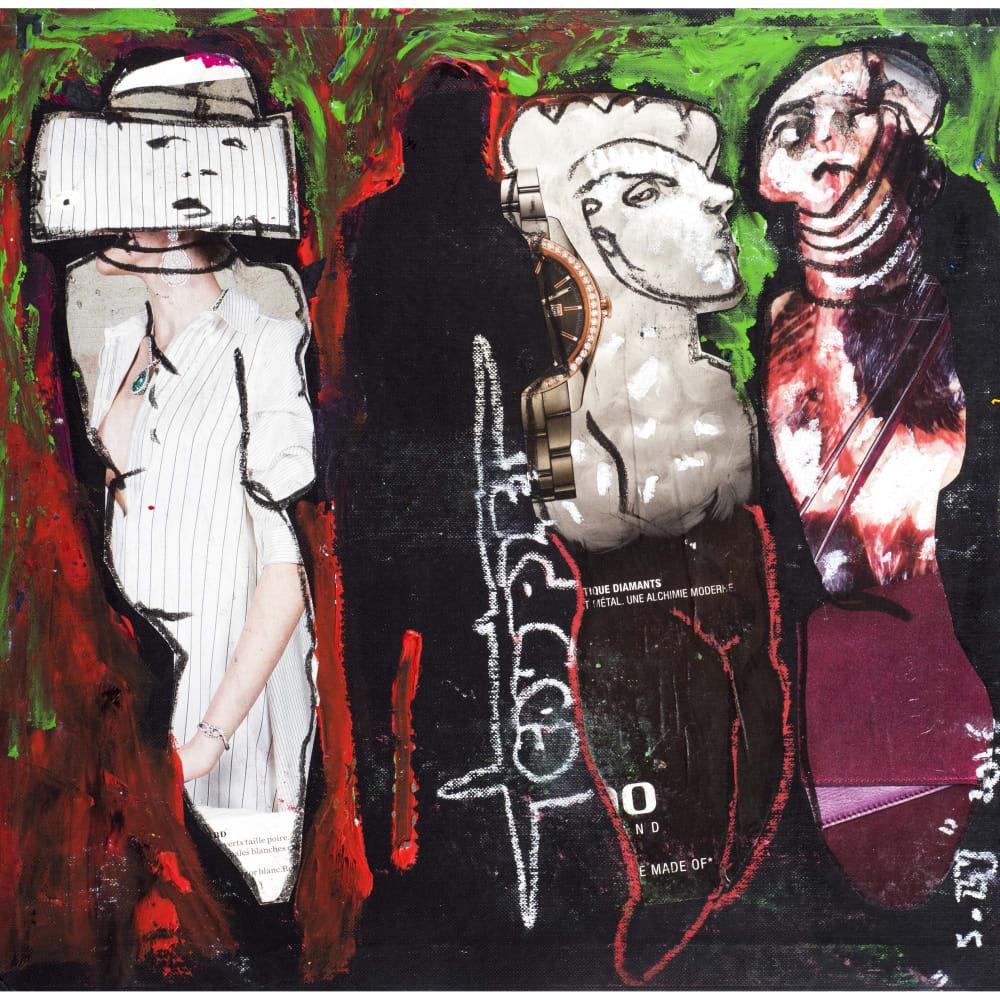 Soly Cissé, Untitled 27 (Black Book Project 1), 2016