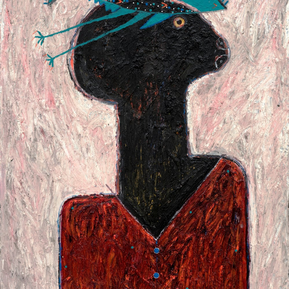 Adjani Okpu-Egbe, Self-Portrait, 2018