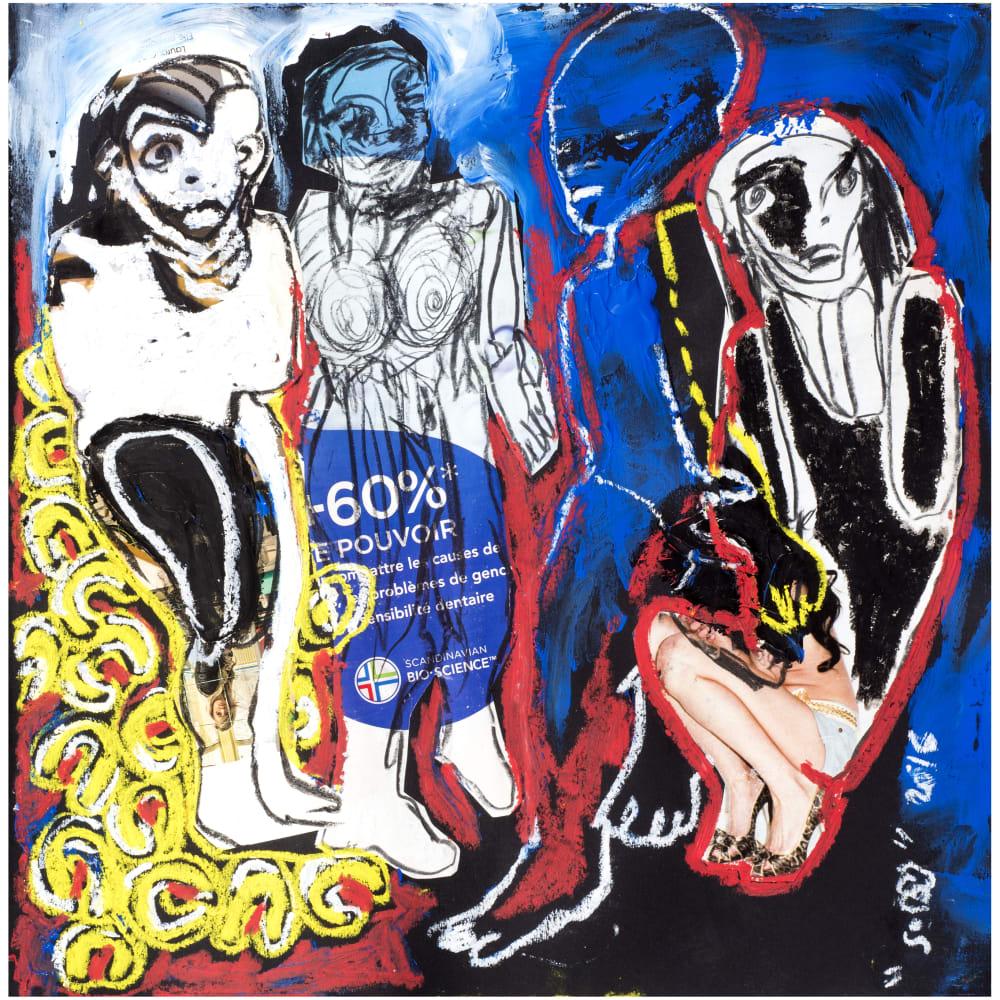 Soly Cissé, Untitled 9 (Black Book Project 1), 2016