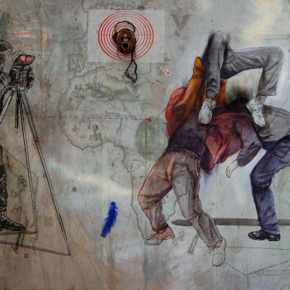 Mohamed Lekleti, The unspeakable remains of hope, 2019