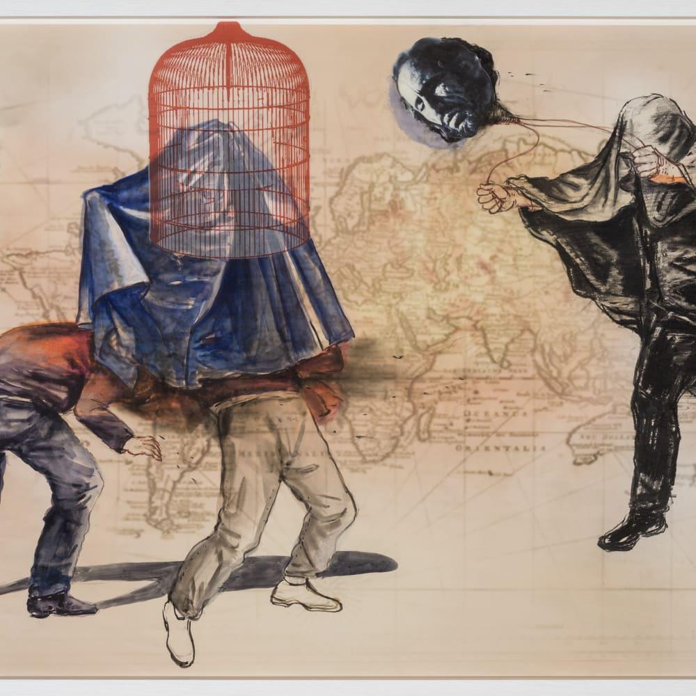 Mohamed Lekleti, Untitled IX, 2019