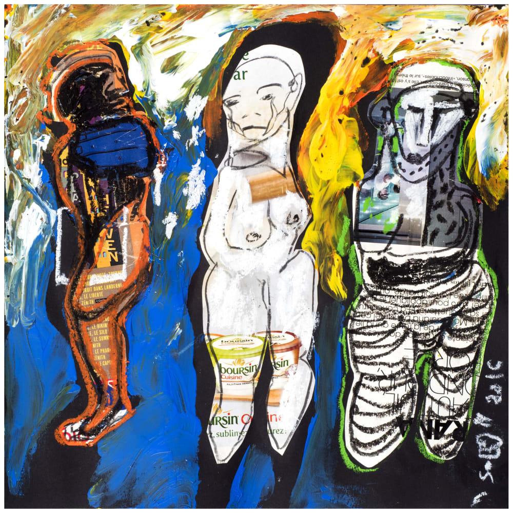 Soly Cissé, Untitled 11 (Black Book Project 1), 2016