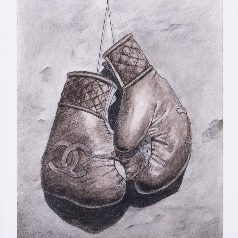 Mohamed Saïd Chair, Boxing gloves, 2018
