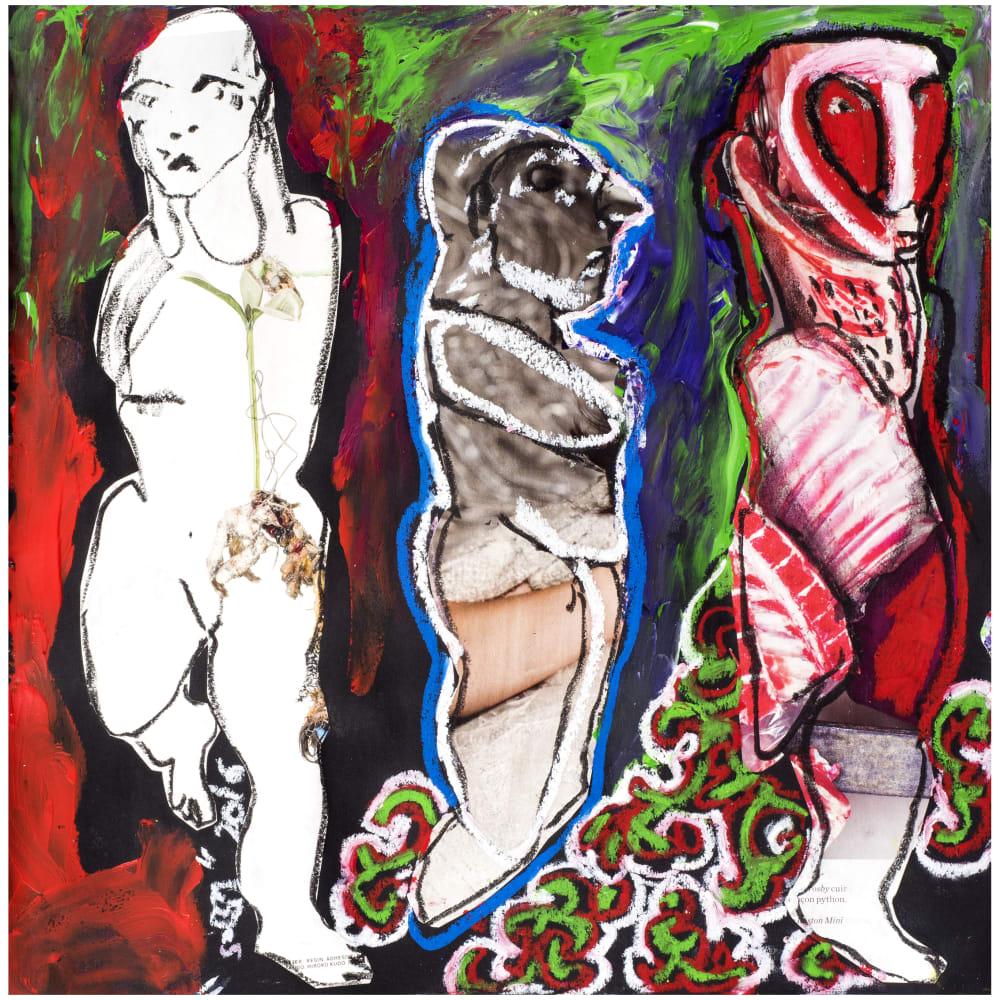 Soly Cissé, Untitled 5 (Black Book Project 1), 2016