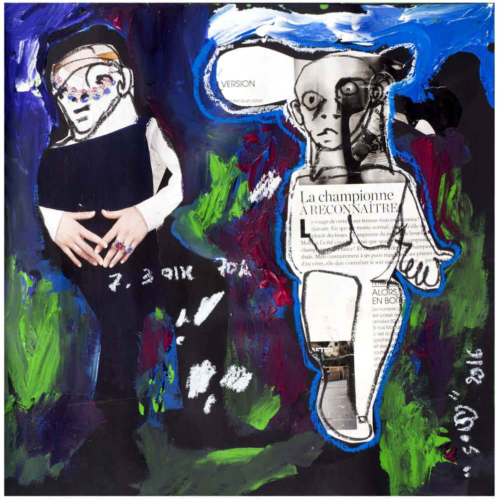 Soly Cissé, Untitled 3 (Black Book Project 1), 2016