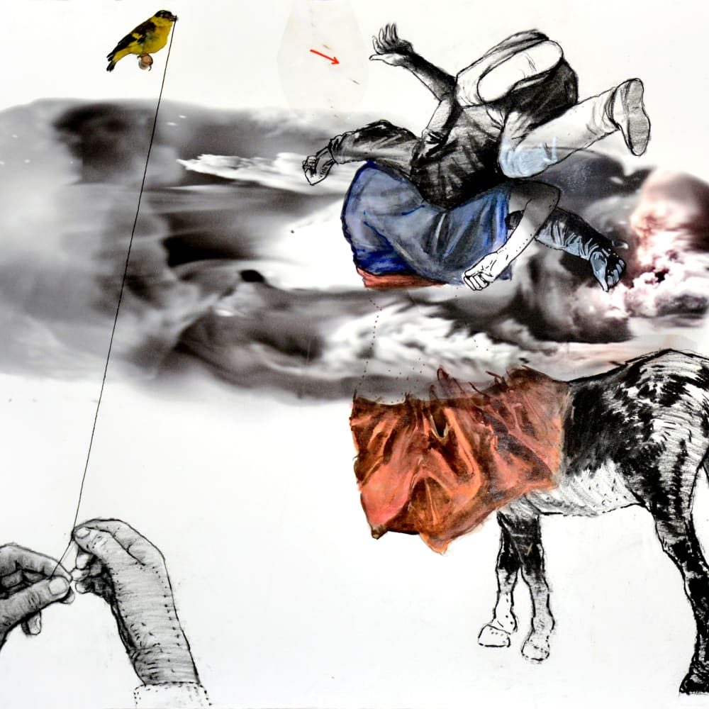 Mohamed Lekleti, Untitled II, 2019