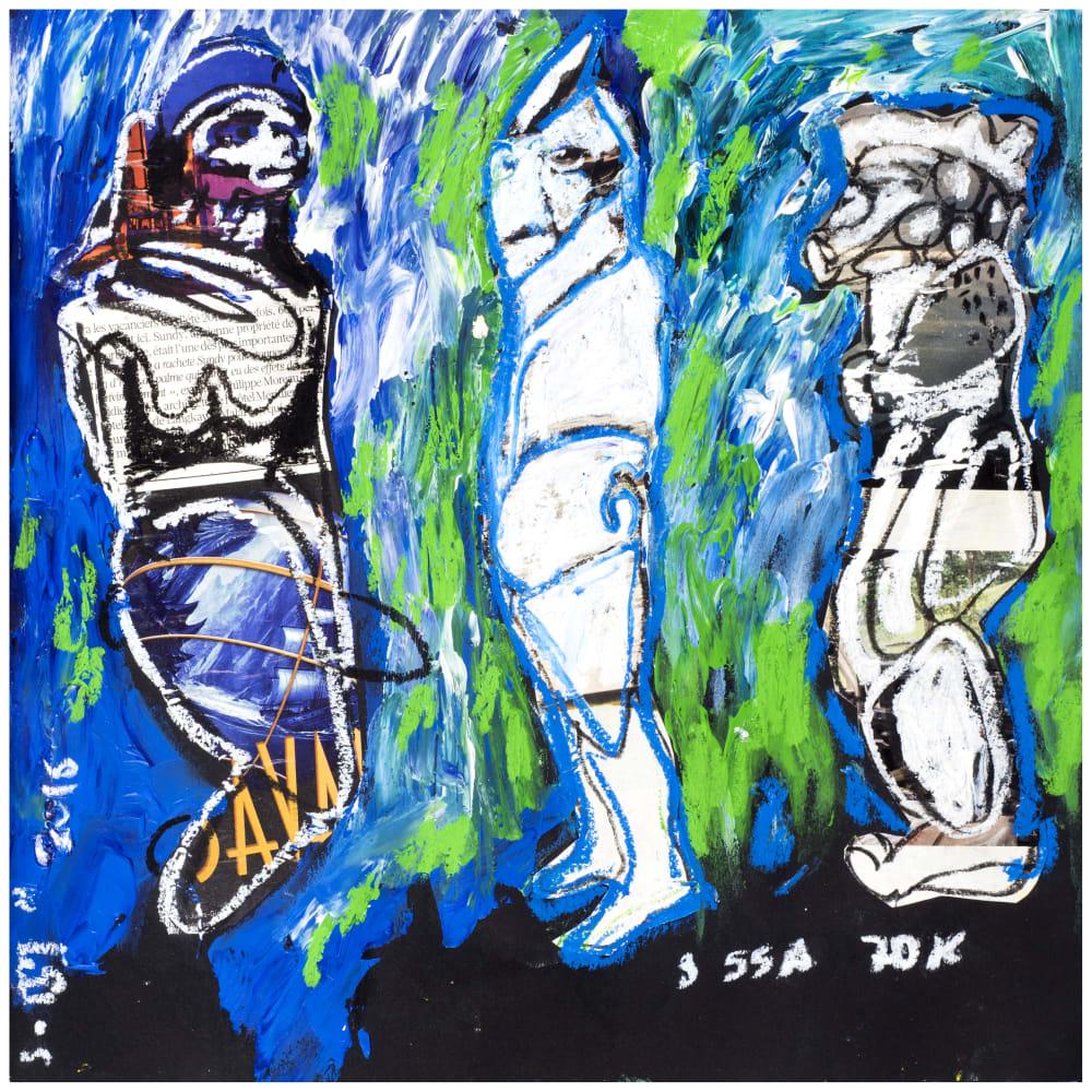Soly Cissé, Untitled 6 (Black Book Project 1), 2016