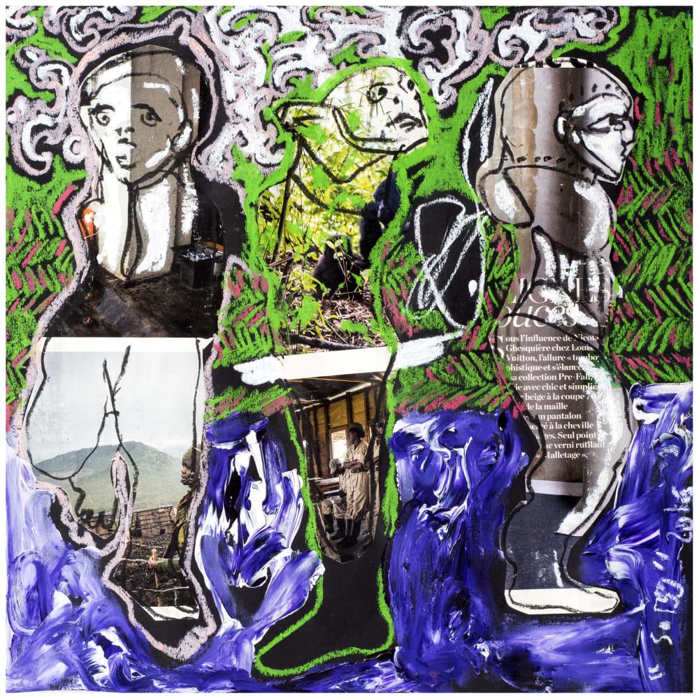 Soly Cissé, Untitled 24 (Black Book Project 1), 2016