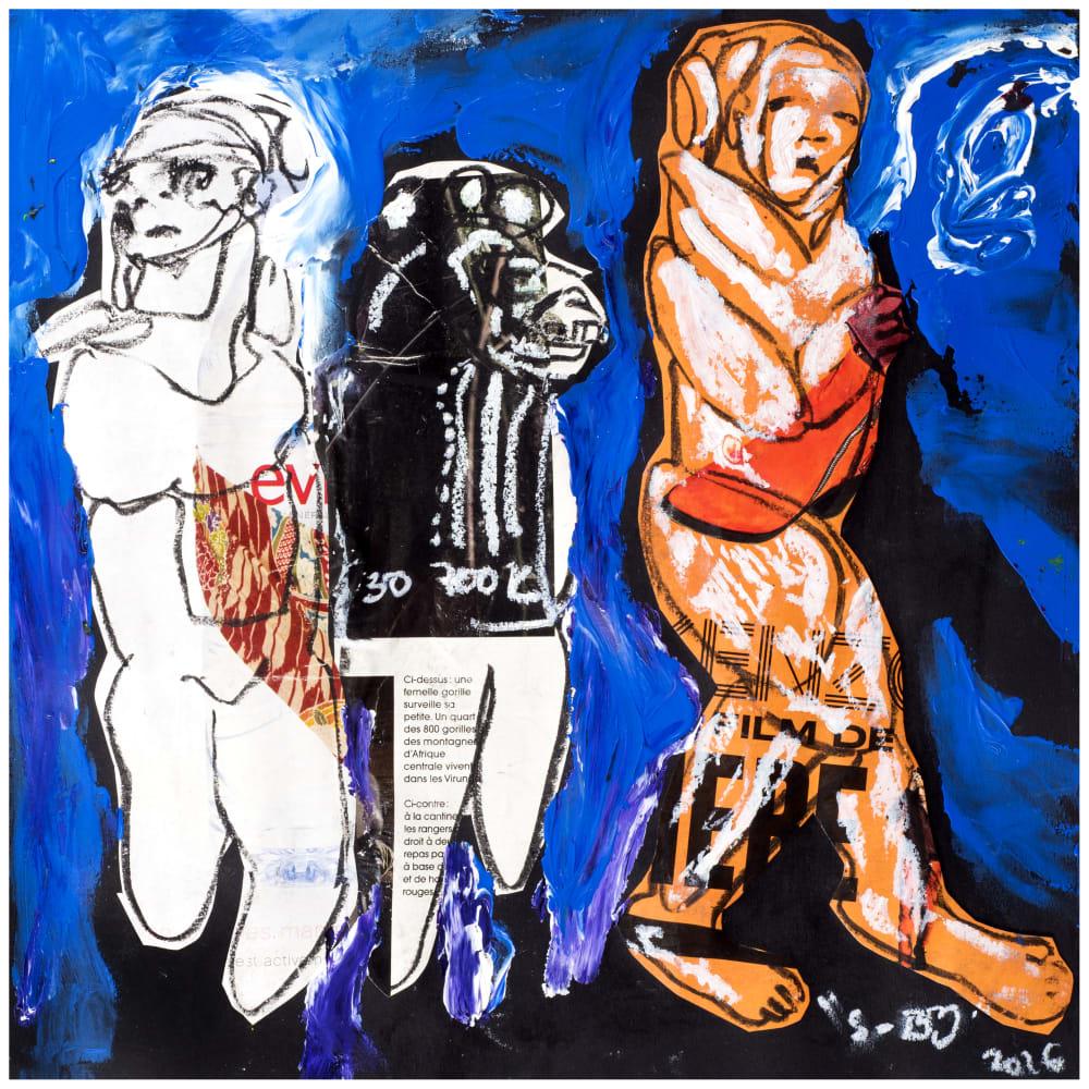 Soly Cissé, Untitled 25 (Black Book Project 1), 2016
