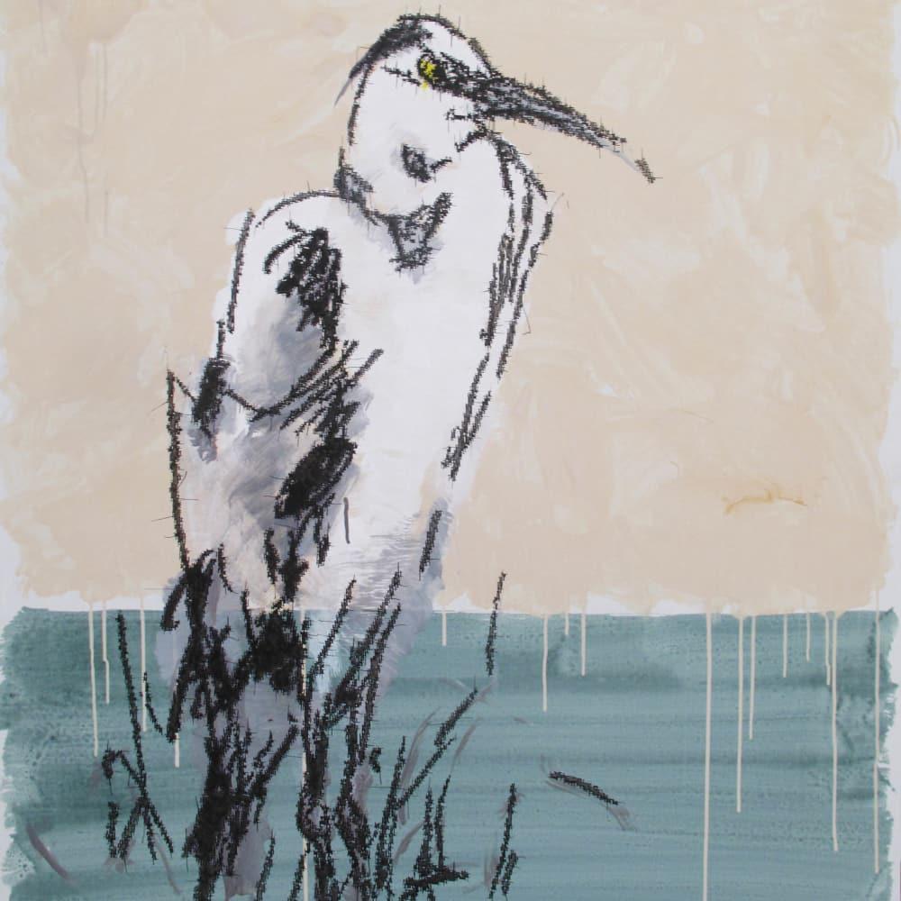 Ye Yongqing 葉永青, Grass Heron, 2018