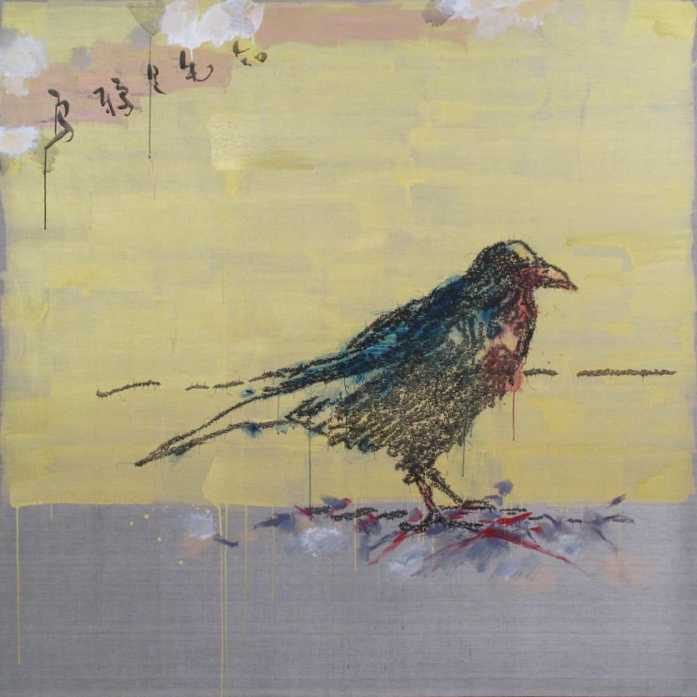 Ye Yongqing 葉永青, Golden Crow, 2018
