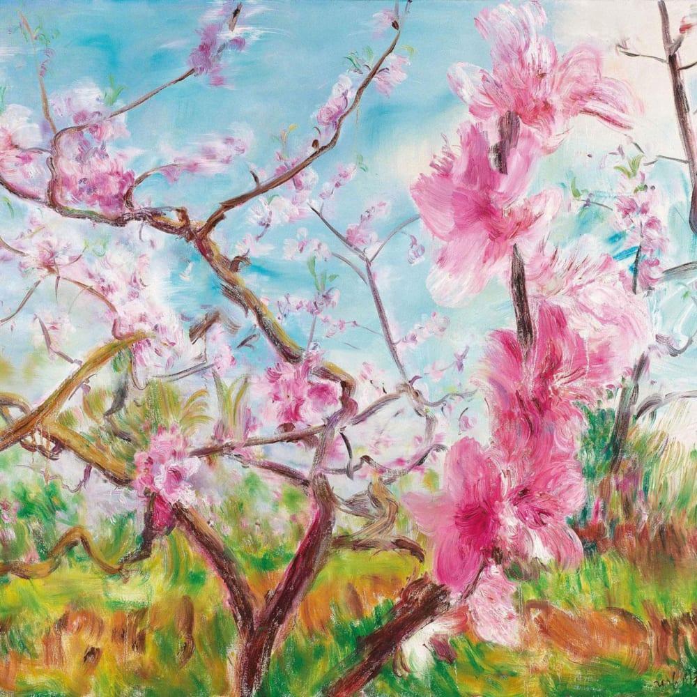 Zhou Chunya 周春芽, Cherry Blossoms Series, 2006
