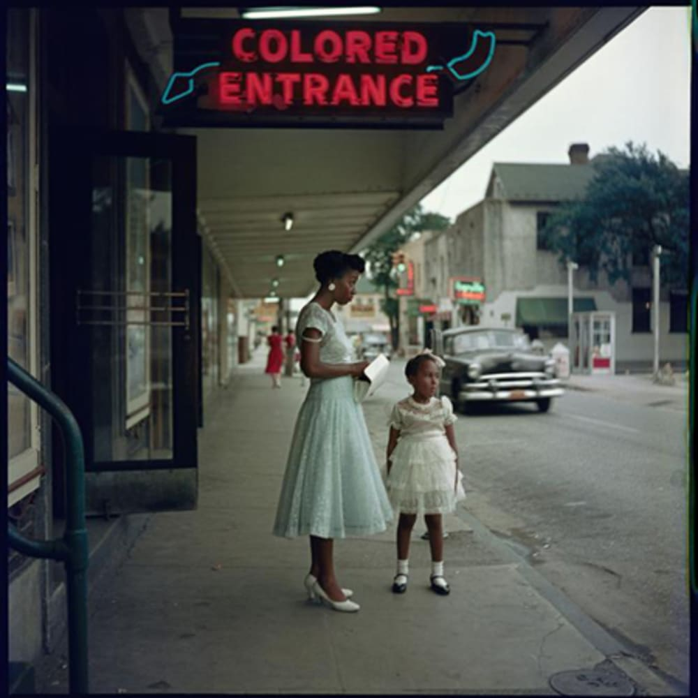 Gordon Parks  Department Store, 1956  Archival Pigment Print  16 x 20 inches  Series: The Segregation Story