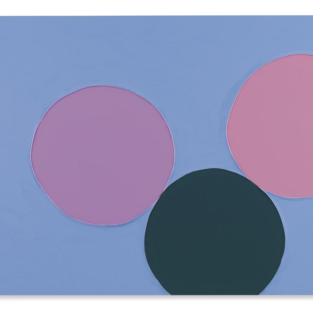 Gary Hume  Blue Skies, 2013  Gloss paint on aluminium  114 x 153 cm