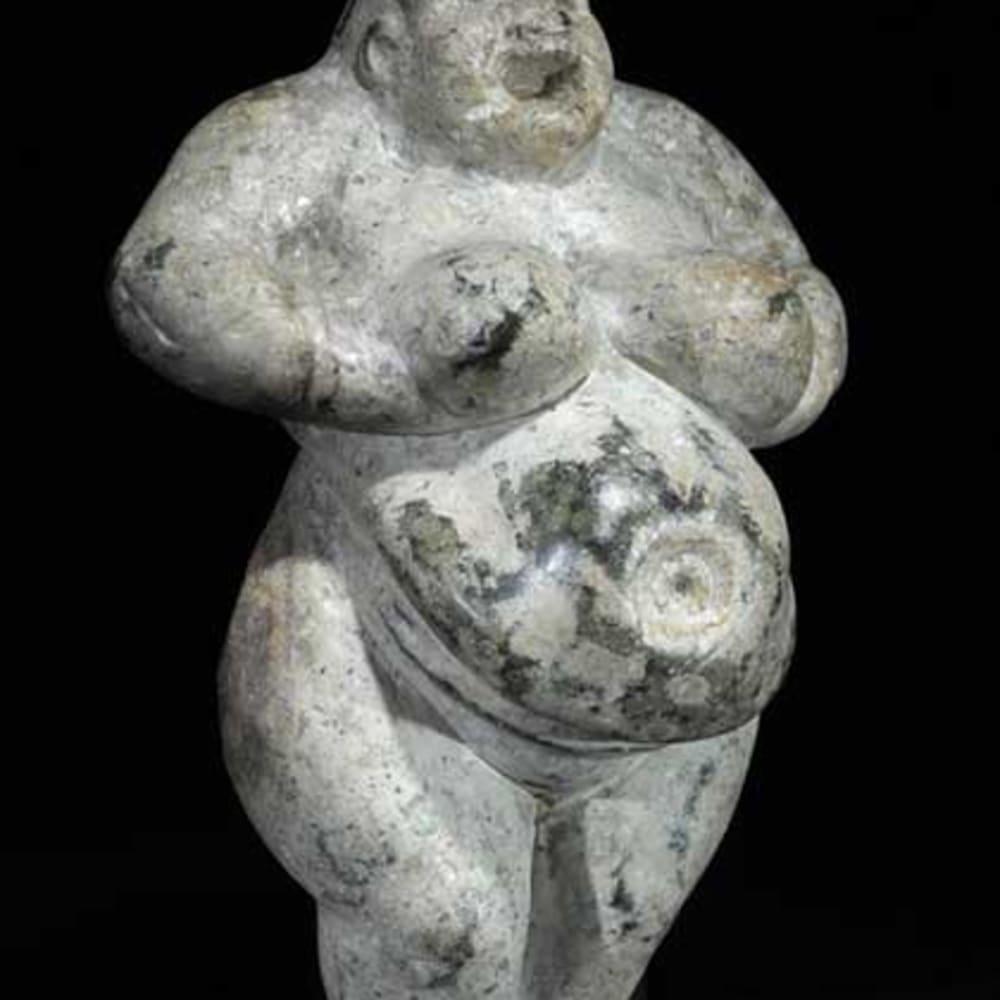 Neolithic Fertility Goddess, 6000 BCE - 4000 BCE  Stone  5.9