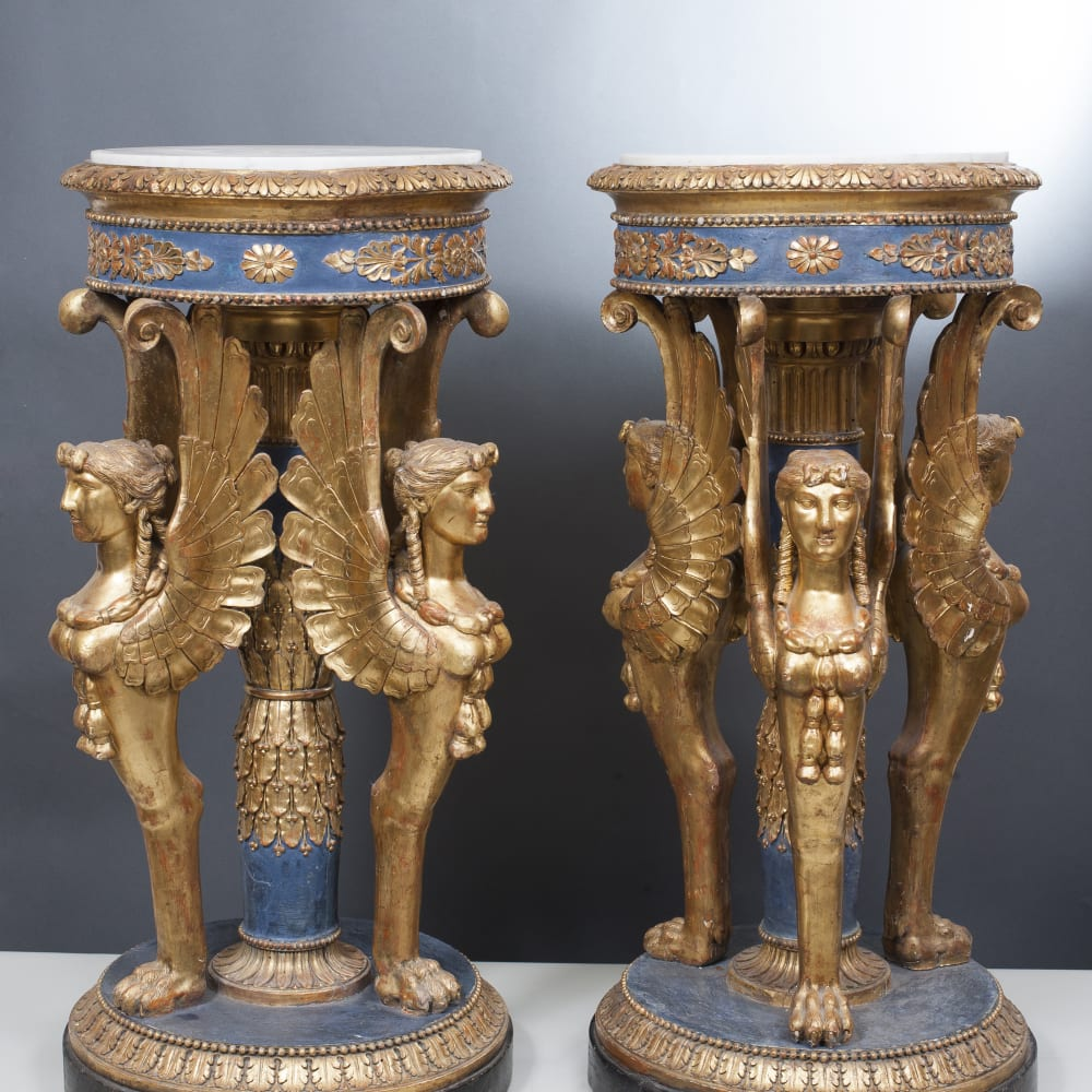 Pair of Guéridons, Milan, Late 18th century