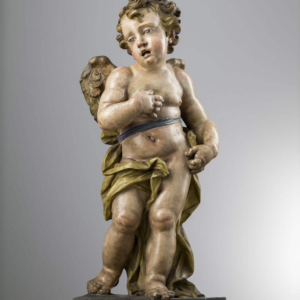 Giuseppe Sanmartino, Angel, Naples, Second half of 18th Century