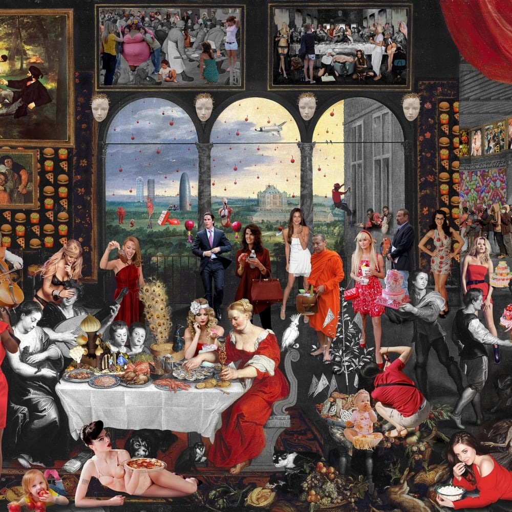 Lluís Barba  Taste. Jan Brueghel & Peter Paul Rubens, 2016  C-Type Print, Diasec Mounted  162.6 x 243.8 cm 64 x 96 in.