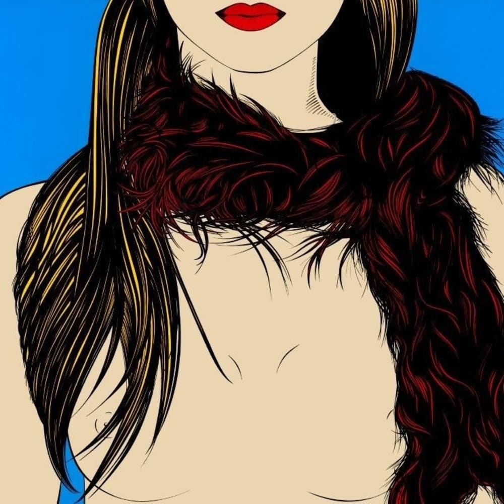 Deborah Azzopardi  Vintage, 2010  Acrylic on board  94 x 128.5 cm 37 x 50 5/8 in.