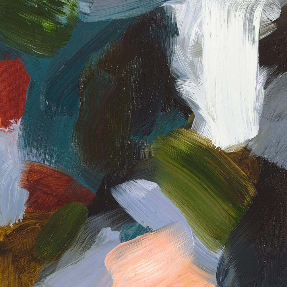 Elise Ansel  Revelations I, 2016  Oil on Linen  45.7 x 35.6 cm 18 x 14 in.