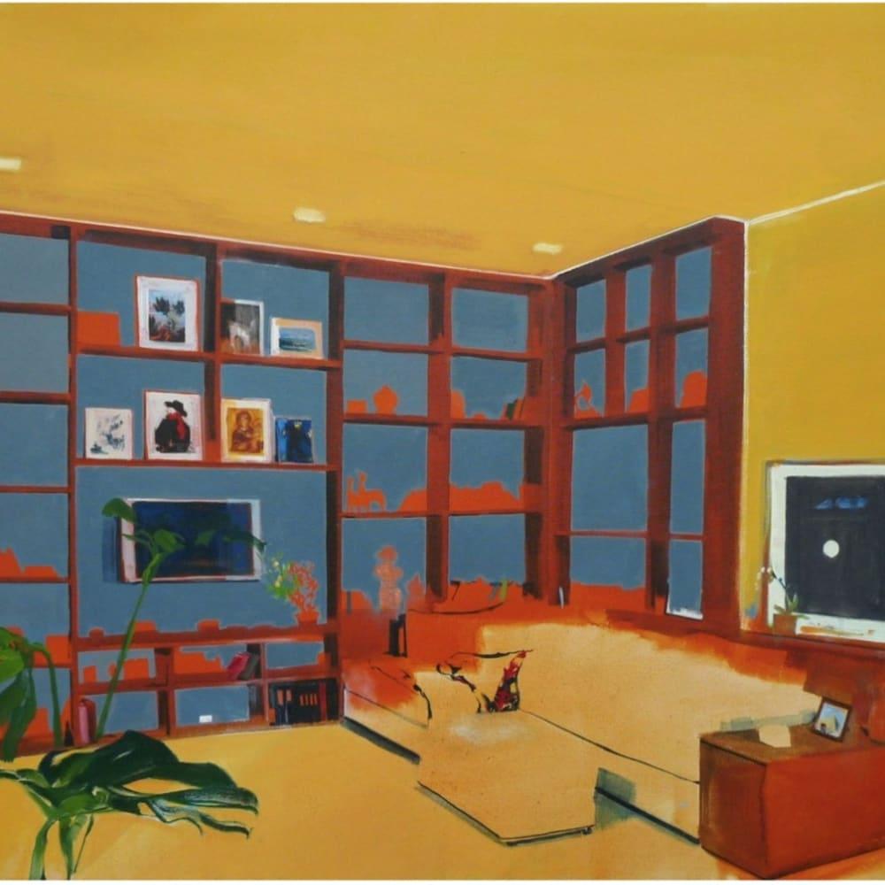 Eleanor Watson  Habitat, 2013  Oil on Canvas  70 x 85 cm 27 1/2 x 33 1/2 in.