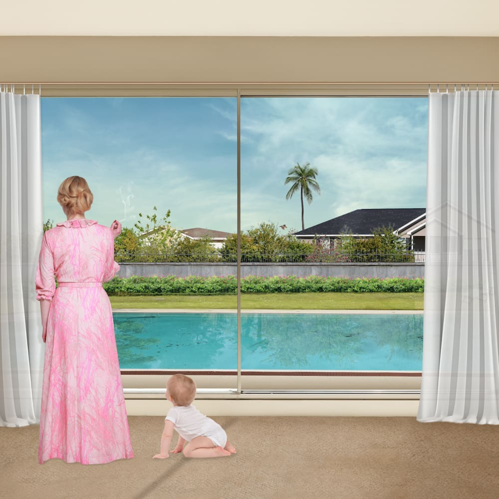 Liron Kroll  Childcare No.1, 2013  Photography, Digital Photo-Montage  63 x 100 cm  24 3/4 x 39 3/8 in.  Edition of 5 plus 2 artist's proofs
