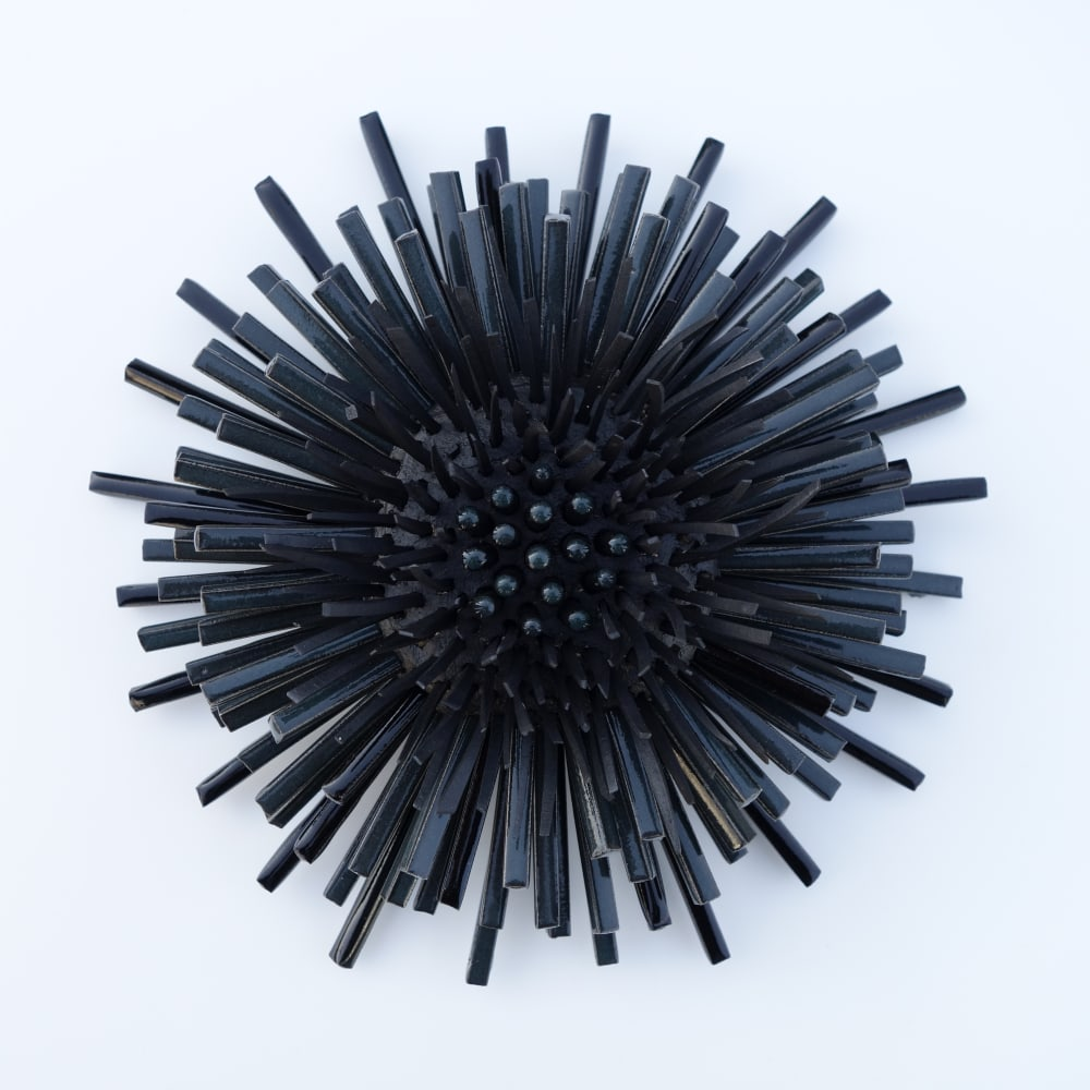 Zemer Peled  Flower Power 9, 2017  Porcelain  25.4 x 25.4 x 12.7 cm  10 x 10 x 5 in.