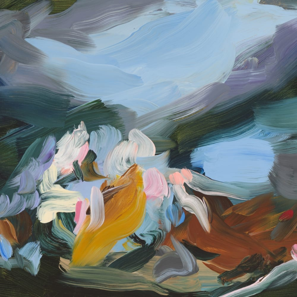 Elise Ansel  Study for After Fools Rush In, 2015  Oil on Canvas  30.5 x 40.6 cm 12 x 16 in.