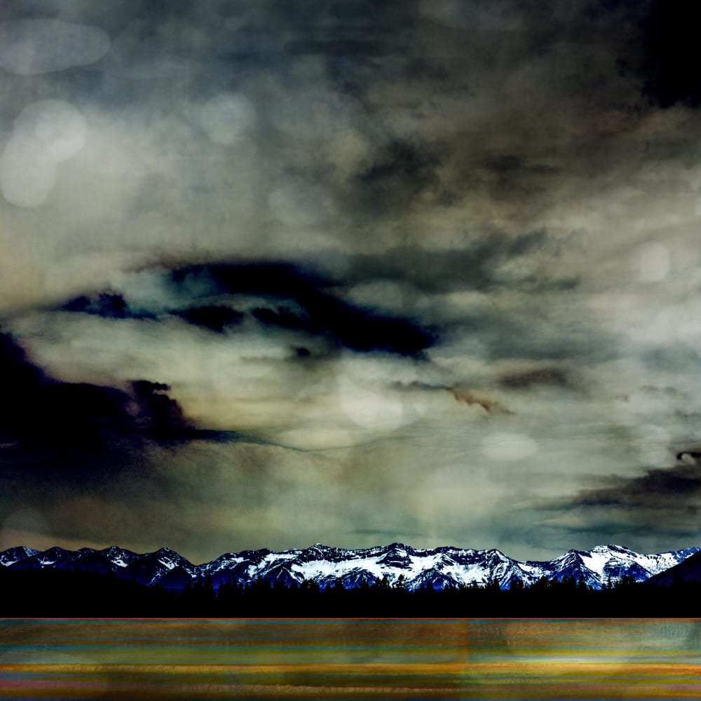 Jillaine Jurchuk  Spring Storm  Mixed media on aluminum  50 x 40 in  127 x 101.6 cm