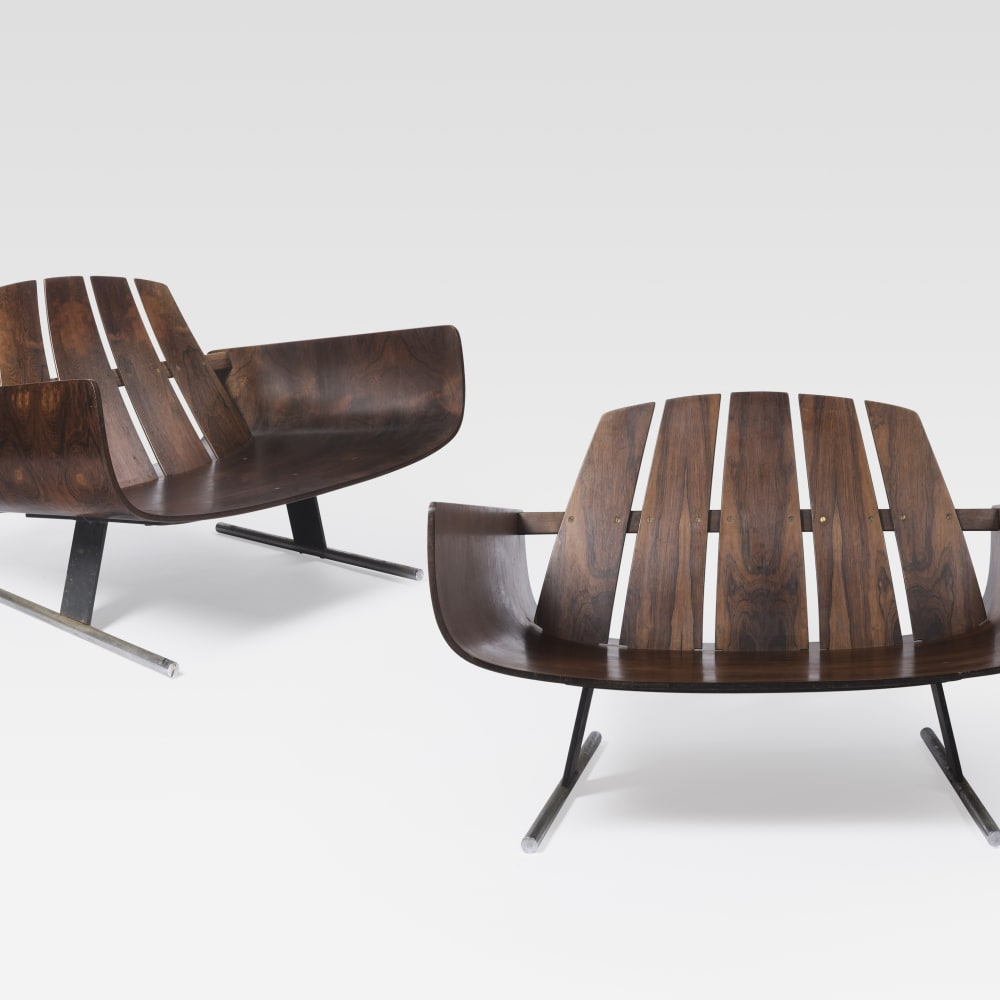 Jorge Zalszupin, Pair of Presidencial armchairs, 1959 - 65
