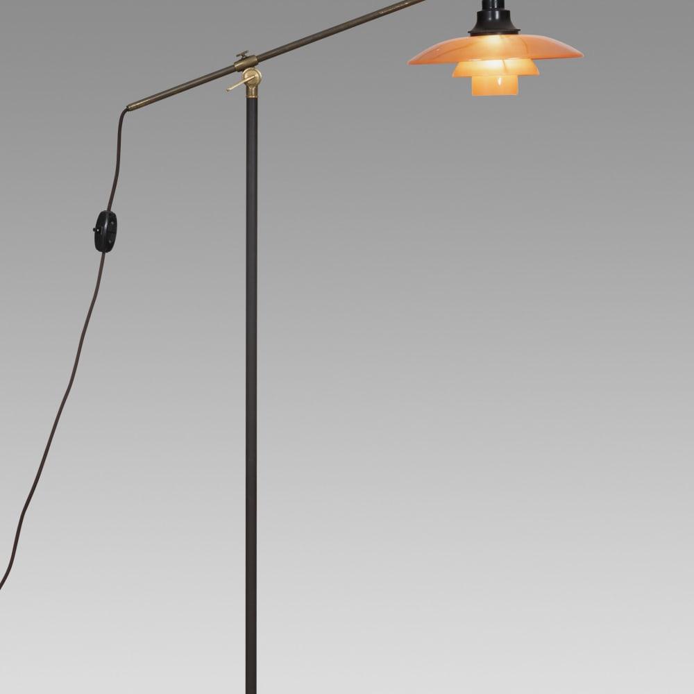 Poul Henningsen, Floor lamp - Waterpump, c. 1940