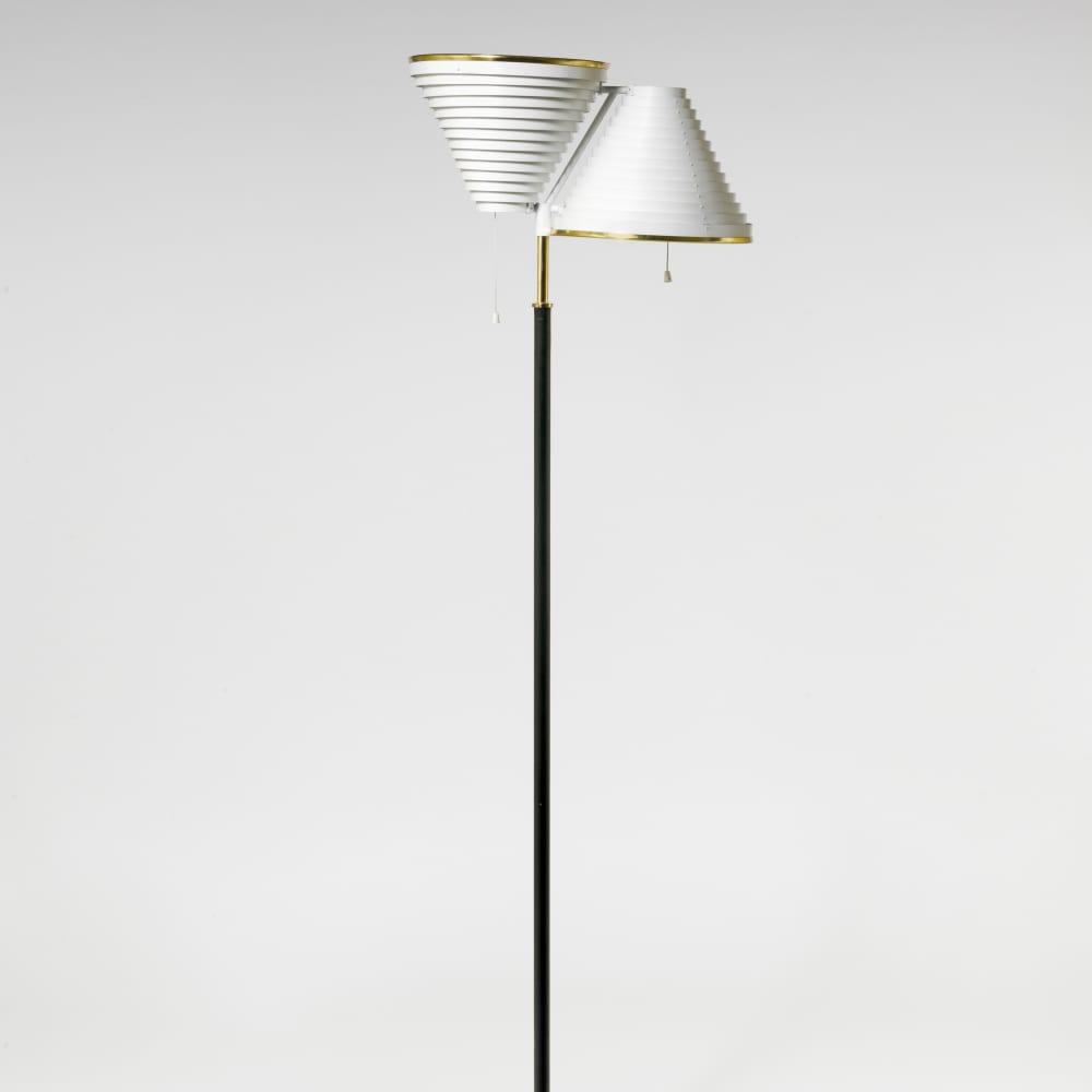 Alvar Aalto, Floor lamp , 1959