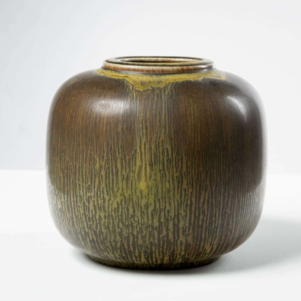 Nils Thorsson  Ceramic, c. 1920  H 12,5 x W 14,5 x D 12,5 cm  Manufactured by Royal Copenhagen