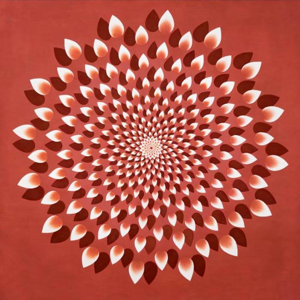 Olivia Fraser, 1000 Petals (Red), 2016