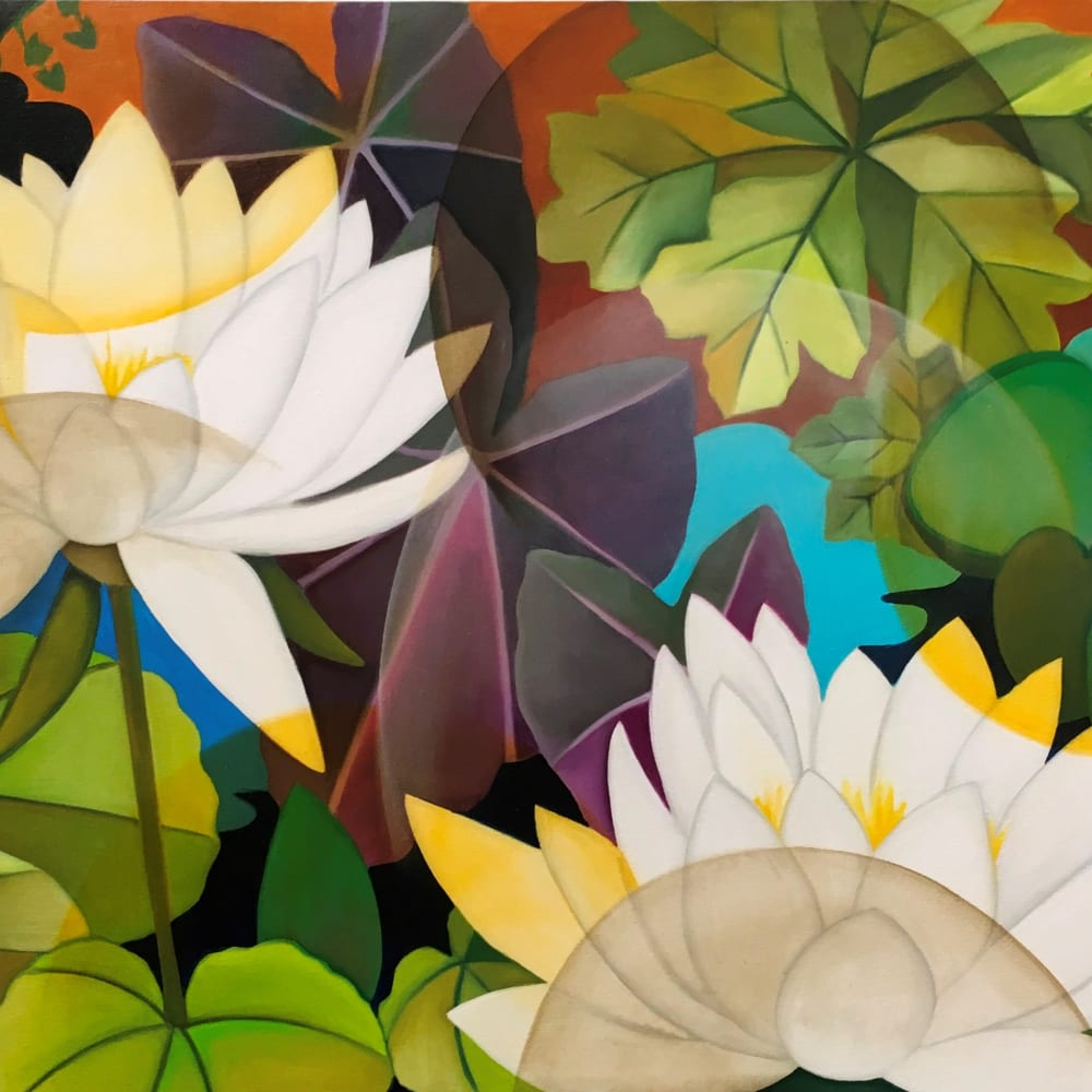 Senaka Senanayake, White Lotus, 2019