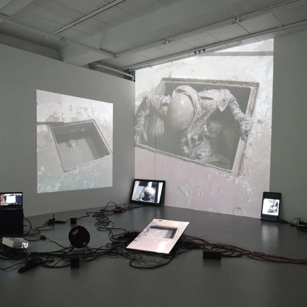 Petr Davydtchenko  Ascension, 2016  6 source video Installation  Dimensions variable  Edition of 5 plus 1 artist's proof