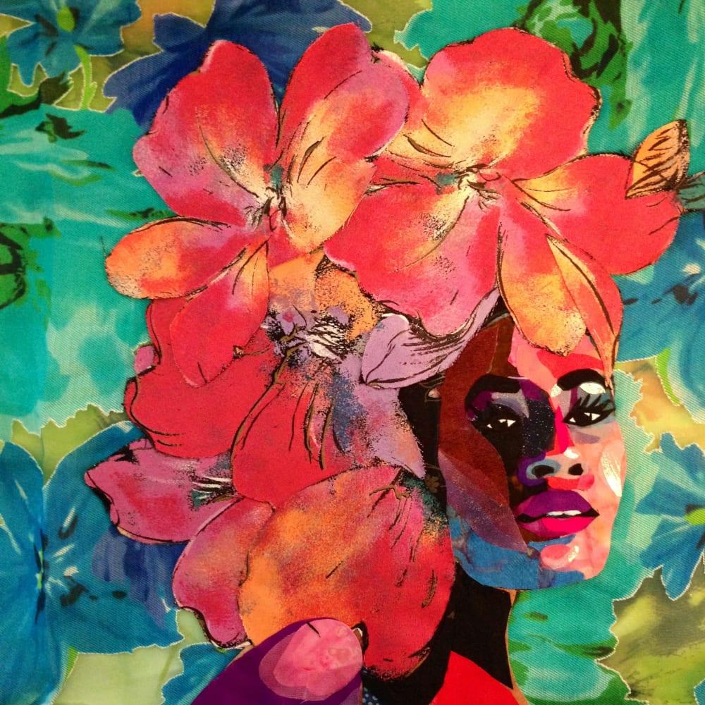 Bisa Butler, Black Orchid