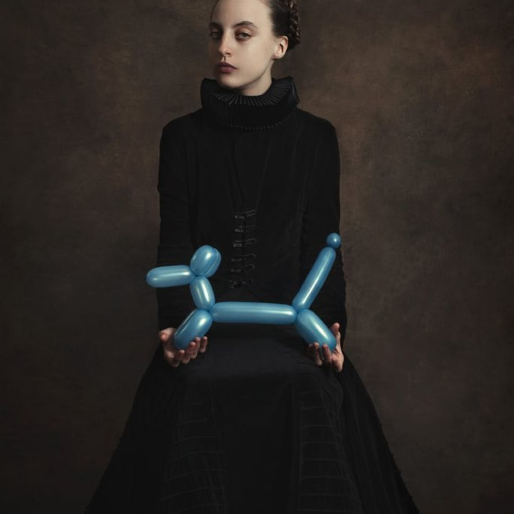Romina Ressia, Blue Dog Balloon, 2015