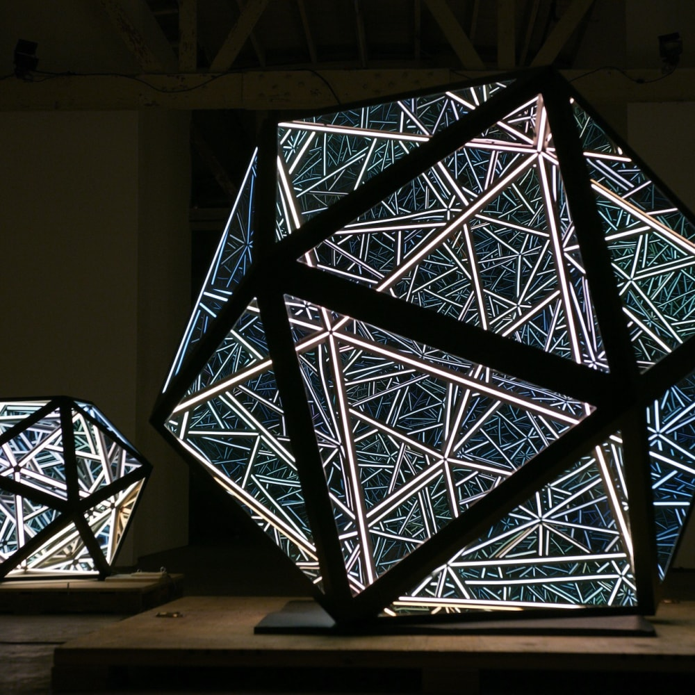 Anthony James, Portal Icosahedron, 2019