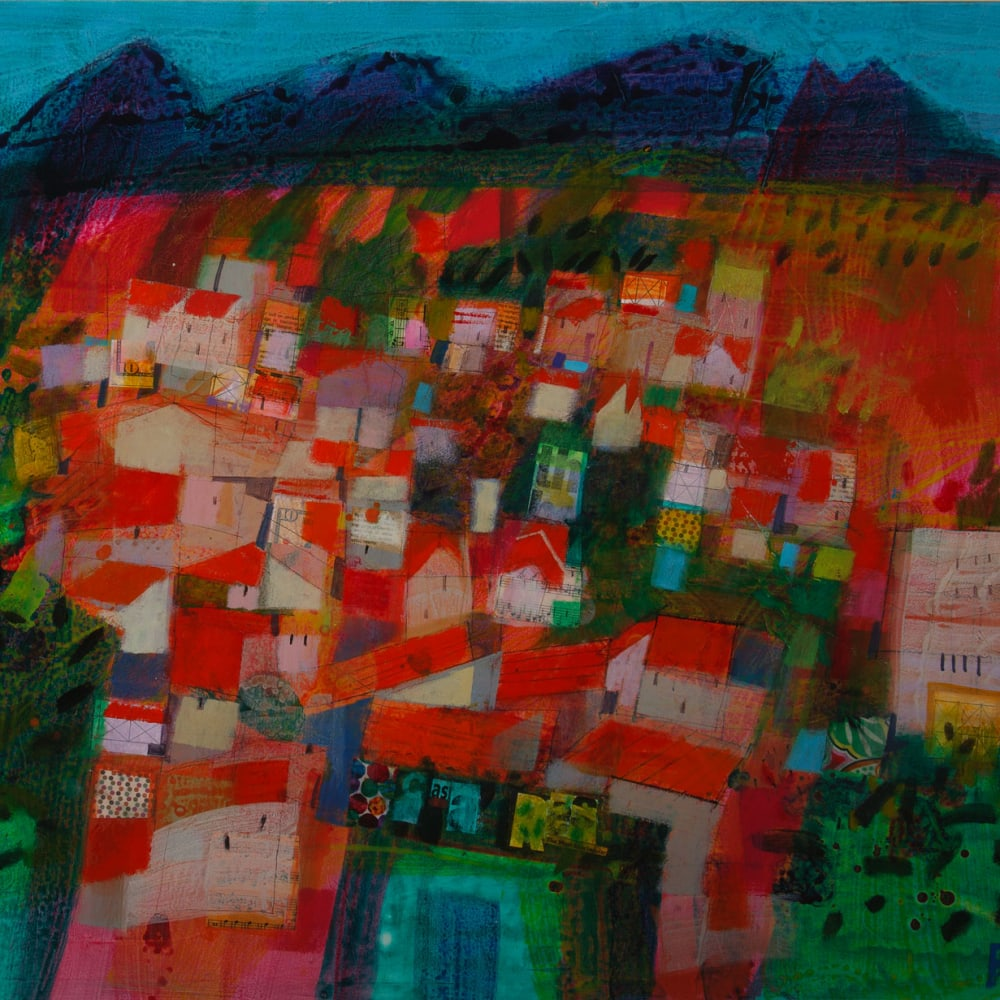 Francis Boag  Big Casares  acrylic  75cm x 90cm